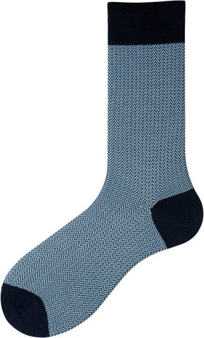 302009 Mens Socks - Herringbone Ank