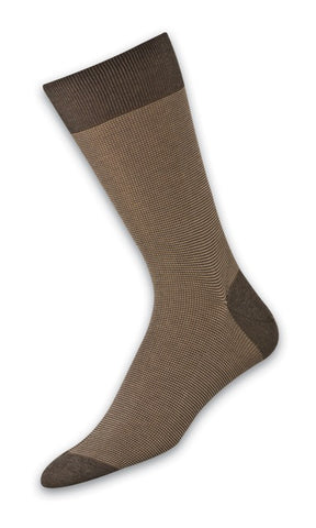 302246 Mens Socks - 3 Color Birdseye