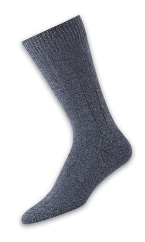 303004 Mens Socks - 11x1 Rib Ank