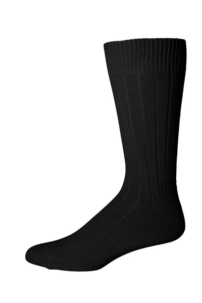 318107 PUNTO Mens Socks - Cashmere Wool Blend Rib Ank