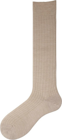 404002 Mens Socks - Superfine Merino Wool Dress Rib OTC
