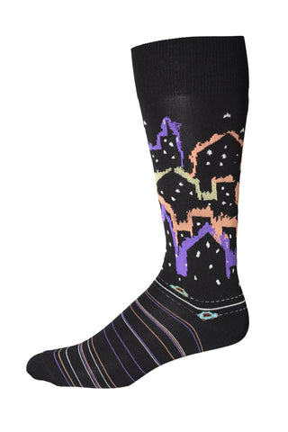 90100 Mens Socks - CITY OF DREAMS