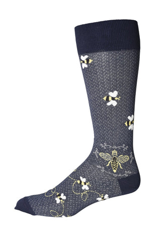 90103 Mens Socks - BEE KEEPER