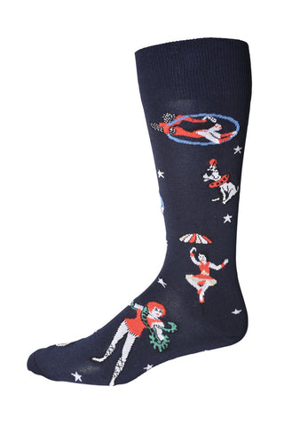 90106 Mens Socks - CLOWNING AROUND