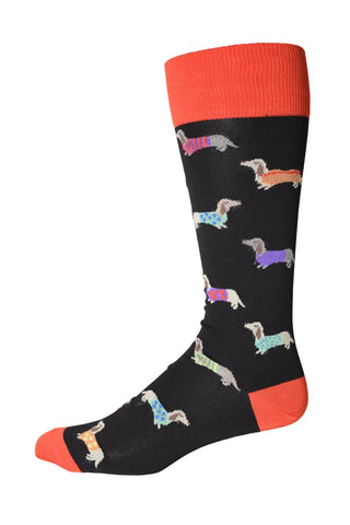 90107 Mens Socks - WHERE'S THE WEINER