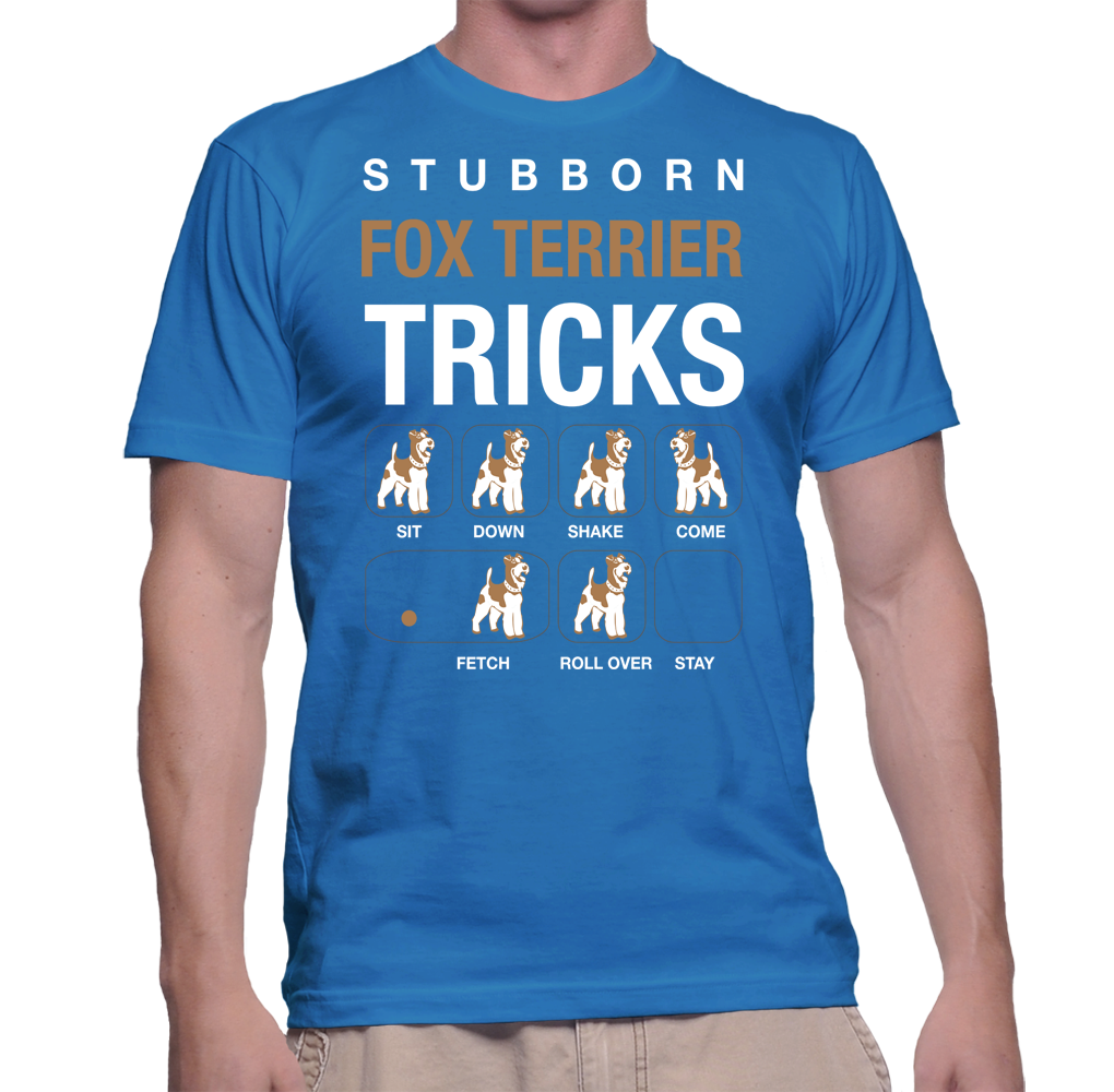 Dogs Stubborn Fox Terrier Tricks