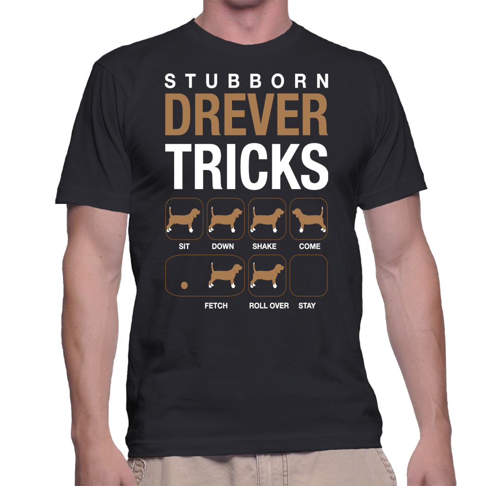 Dogs Stubborn Drever Tricks