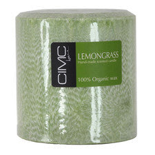 Lemongrass Pillar Candles