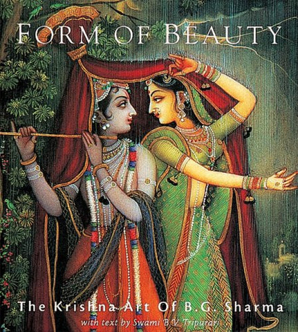 FORM OF BEAUTY - The Krishna Art of B.G. Sharma