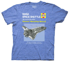 NASA Space Shuttle Haynes Manual T Shirt