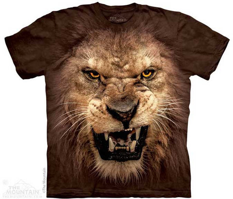 Roaring Lion Adult T Shirt