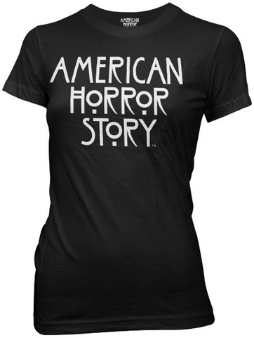 American Horror Story Logo Womens Fitted Tee