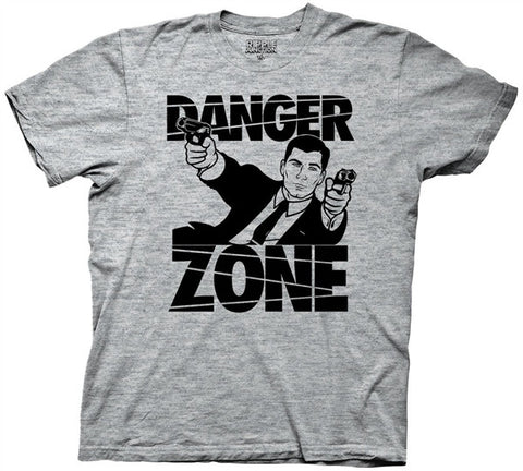 Danger Zone Adult T Shirt