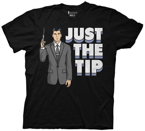 Archer Just the Tip Adult T Shirt