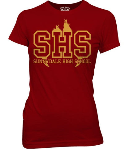 Sunnydale High School Womens Fitted Tee