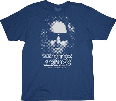 Dude Abides Adult T Shirt