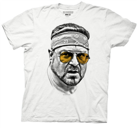 Walter Orange Glasses Adult T Shirt