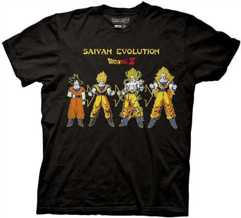 Saiyan Evolution Adult T Shirt