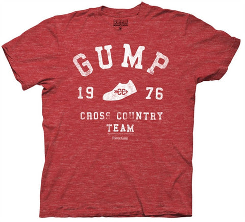 Gump Cross Country Adult T Shirt