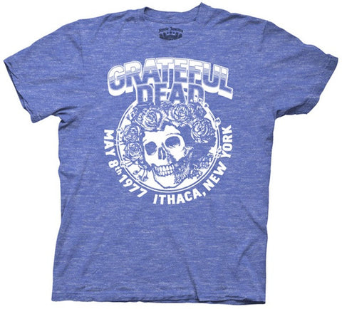 Grateful Dead Ithaca NY Adult T Shirt