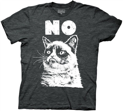 Grumpy Cat No Adult T Shirt