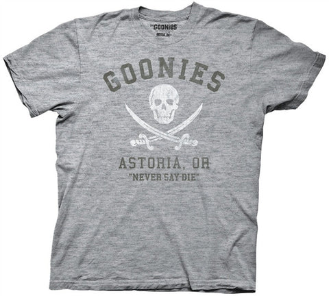 Goonies Astoria Oregon Adult T Shirt