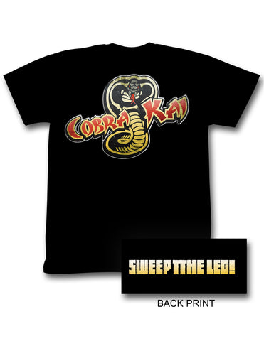 Sweep The Leg Adult T Shirt
