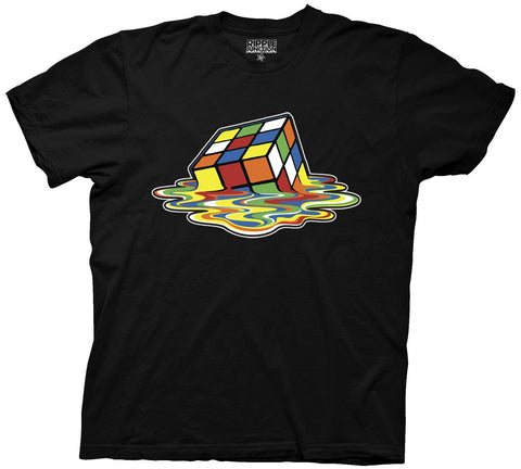 Rubik's Cube Melting Cube Adult T Shirt