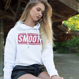 Hoodie Red Box White Women