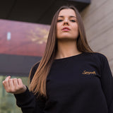 Sweater Black & Gold Originals Minimal Women