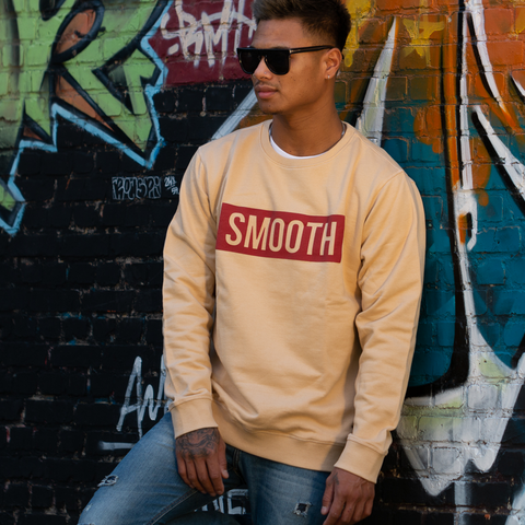 Crewneck Sand / Red Men