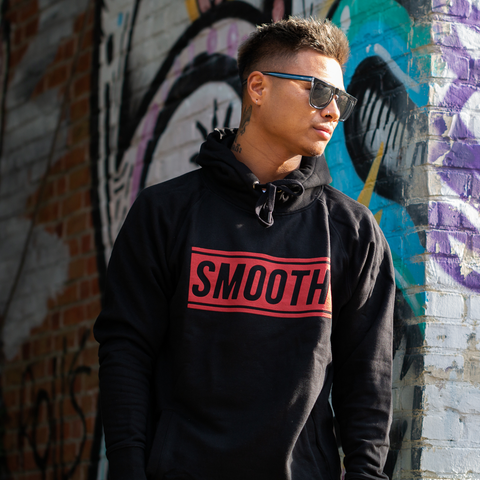 Hoodie Black / Red Men