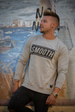 Crewneck Grey / Black Men