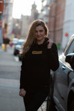 Hoodie Black & Gold Box Women