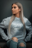 Grey Tipped Crew / Original Streetwear White Women