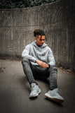 Grey Hoodie / Smile Black Men