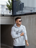 Grey Hoodie / Signature Outline Men