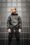 Black Windbreaker / Originals Minimal Black Men