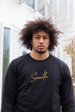 Crewneck Black & Gold Signature Men