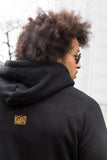 Hoodie Black & Gold Signature Men