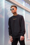 Crewneck Black & Gold Capital Men