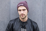 Beanie Heather Burgundy