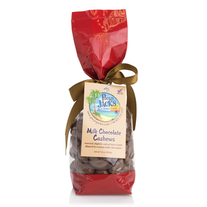 Milk Chocolate Cashews 10oz