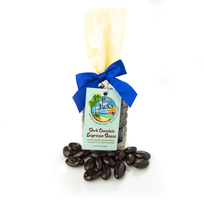 Dark Chocolate Espresso Beans -10 oz. bag