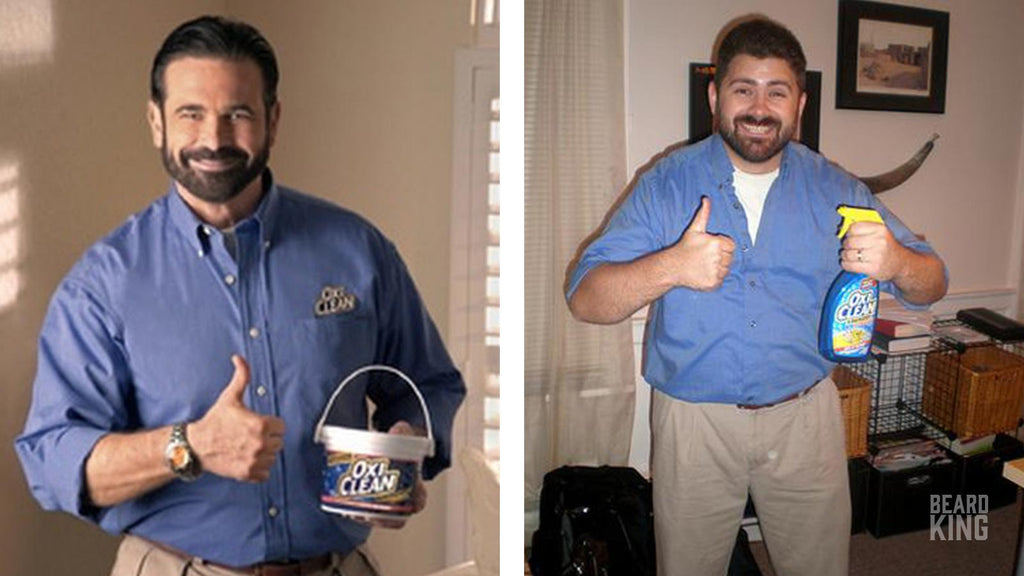 Billy Mays -  The Oxy Clean Guy   sc 1 st  Beard King & 10 TOP Halloween Costume Ideas for Men with Beards u2013 BEARD KING