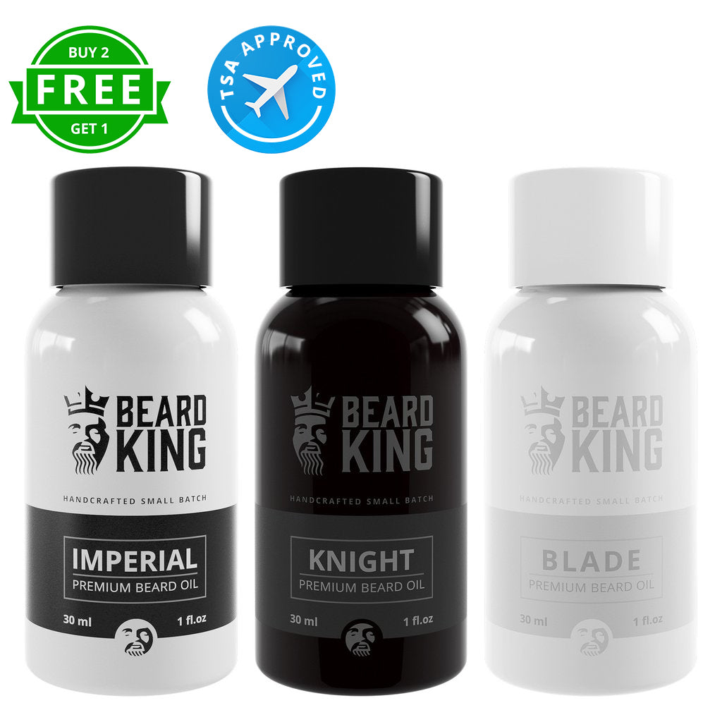 Beard Oil - 3 Kings - BEARD KING - 1