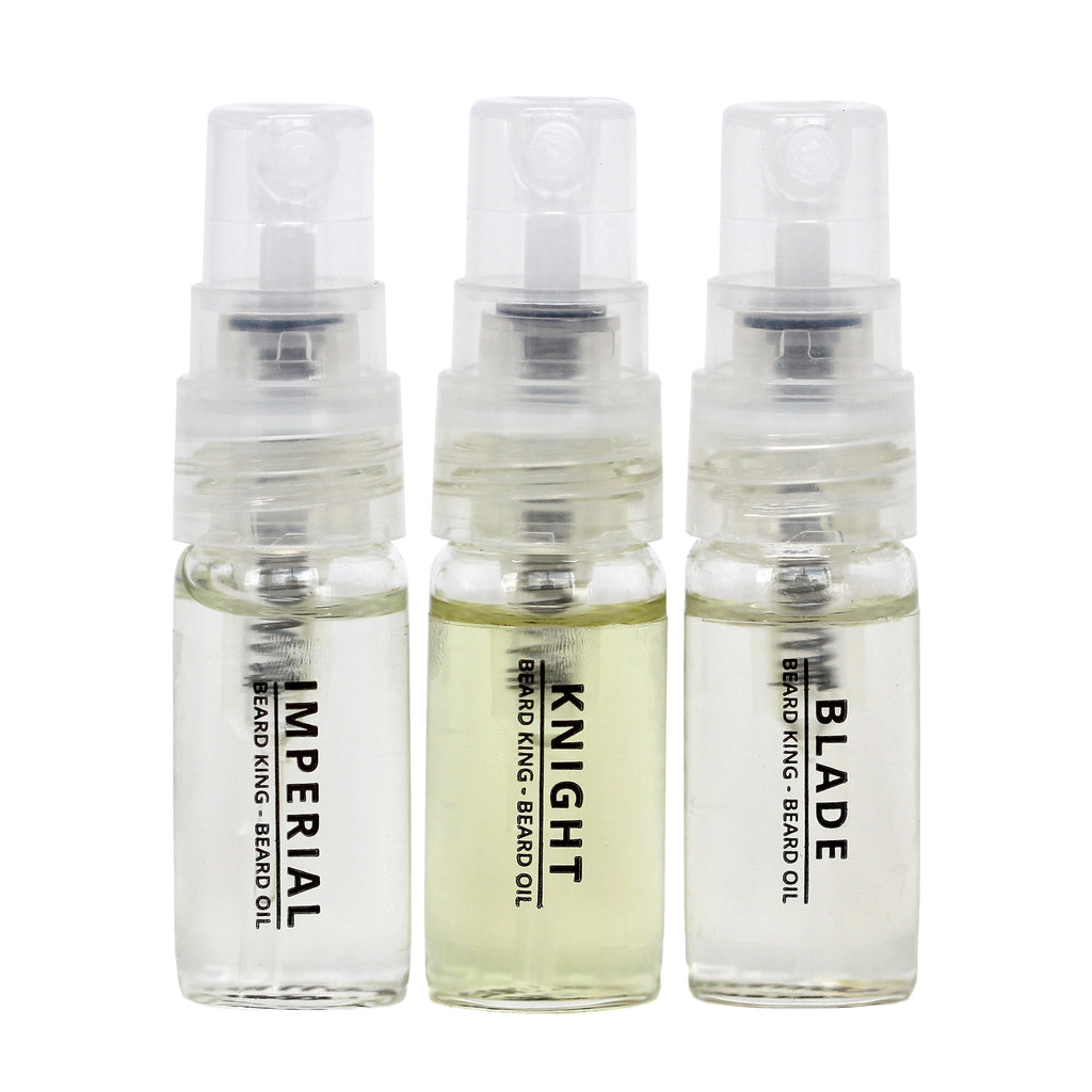 Beard Oil Spray Set