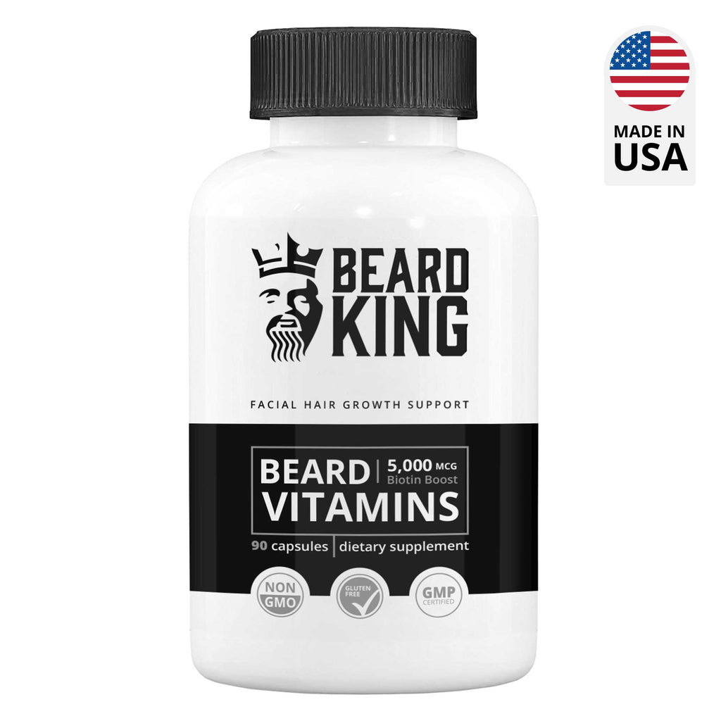 Beard care products for men - Beard Vitamins