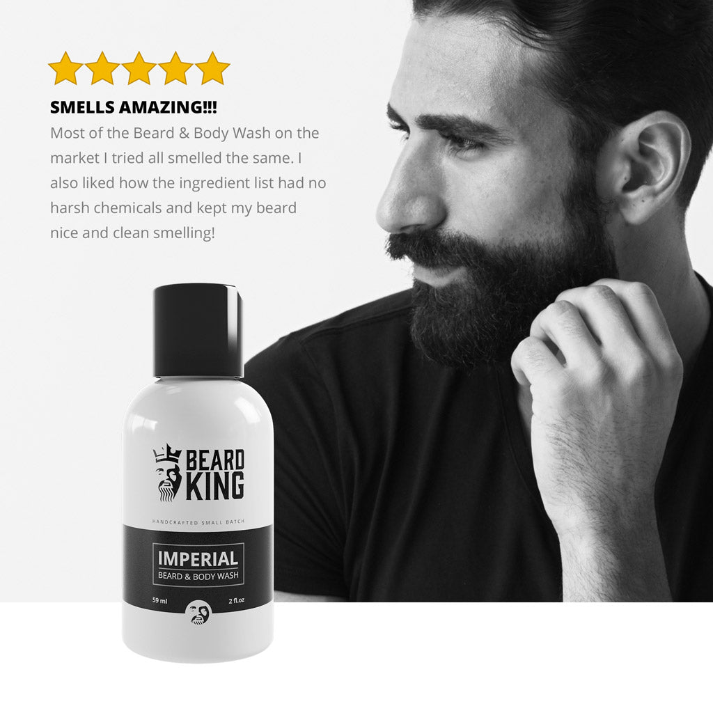 Beard & Body Wash - Imperial