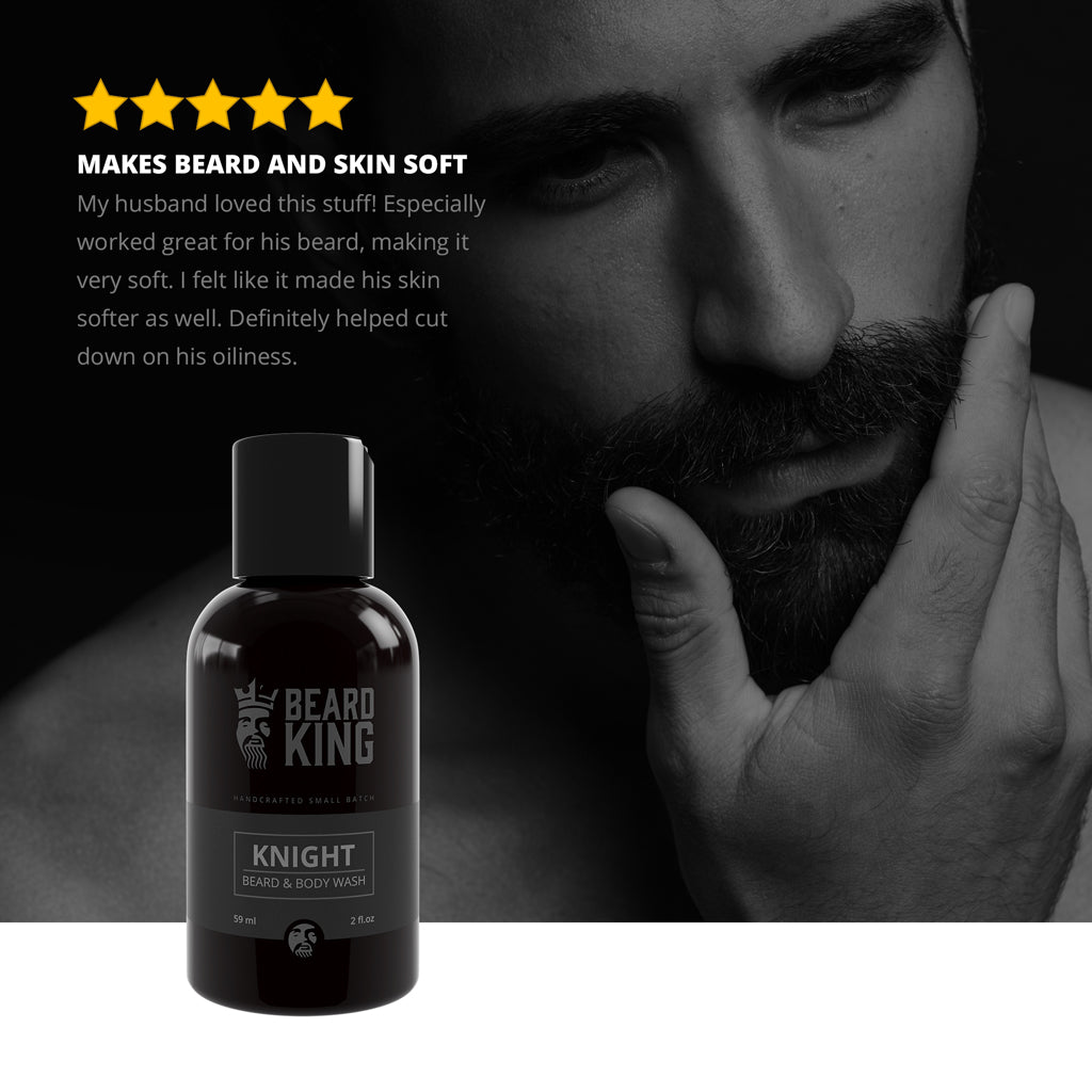 Beard & Body Wash - Knight